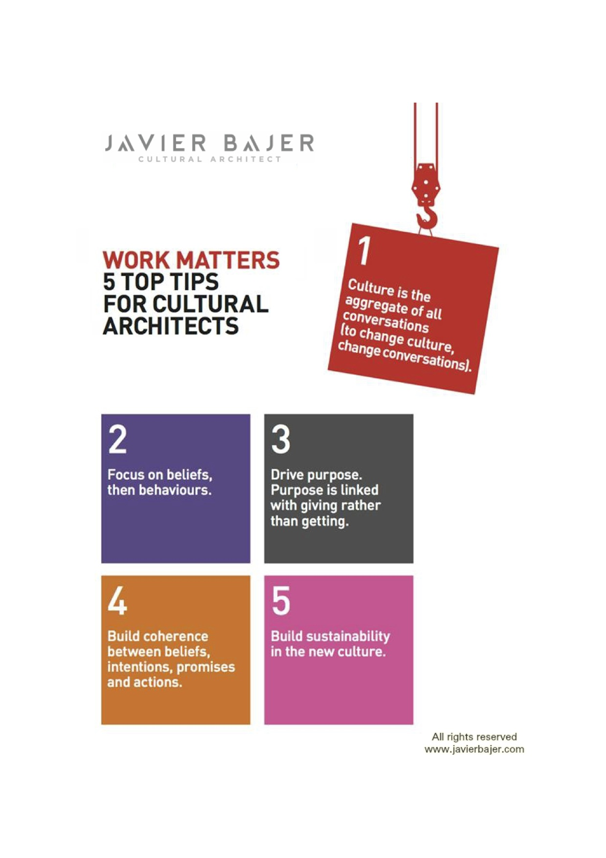 Need help or inspiration to change culture? Watch videos on javierbajer.com