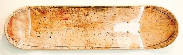 "8. Judith McWillie, ""Skidi Star Map"" $250"