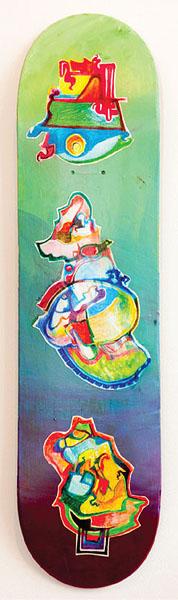 """15. W. Cullen Hart, """"Cloud Board"""" $275"""