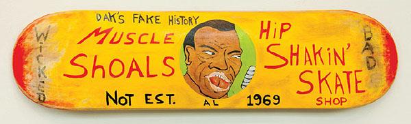 """25. George Davidson, """"Muscle Shoals Est."""" $500"""