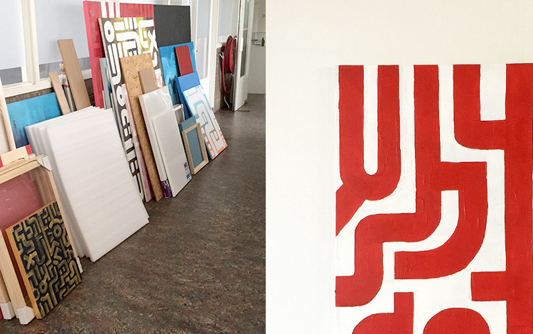 Eight new Mr. Upside artworks online - In this blogpost artwork 2 of 8
