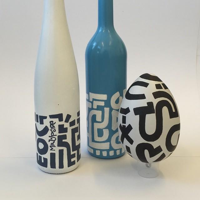 New Mr. Upside Art Bottles