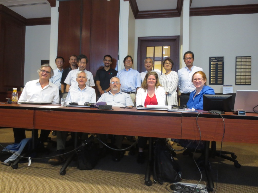 WG 23 experts meet in Chantilly, Virginia