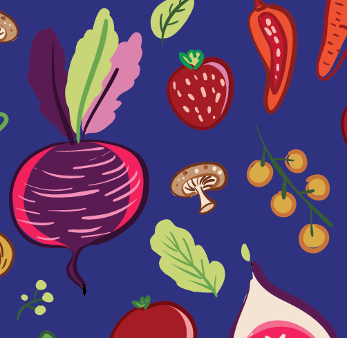 Kara Le Illustration , Harvest Collection