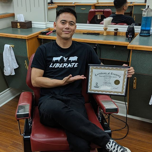 Newly trained barber.  If you want a free haircut, I'm offering them for a limited time. Send me a message!I just graduated advanced barbering course with some great classmates and instructors.