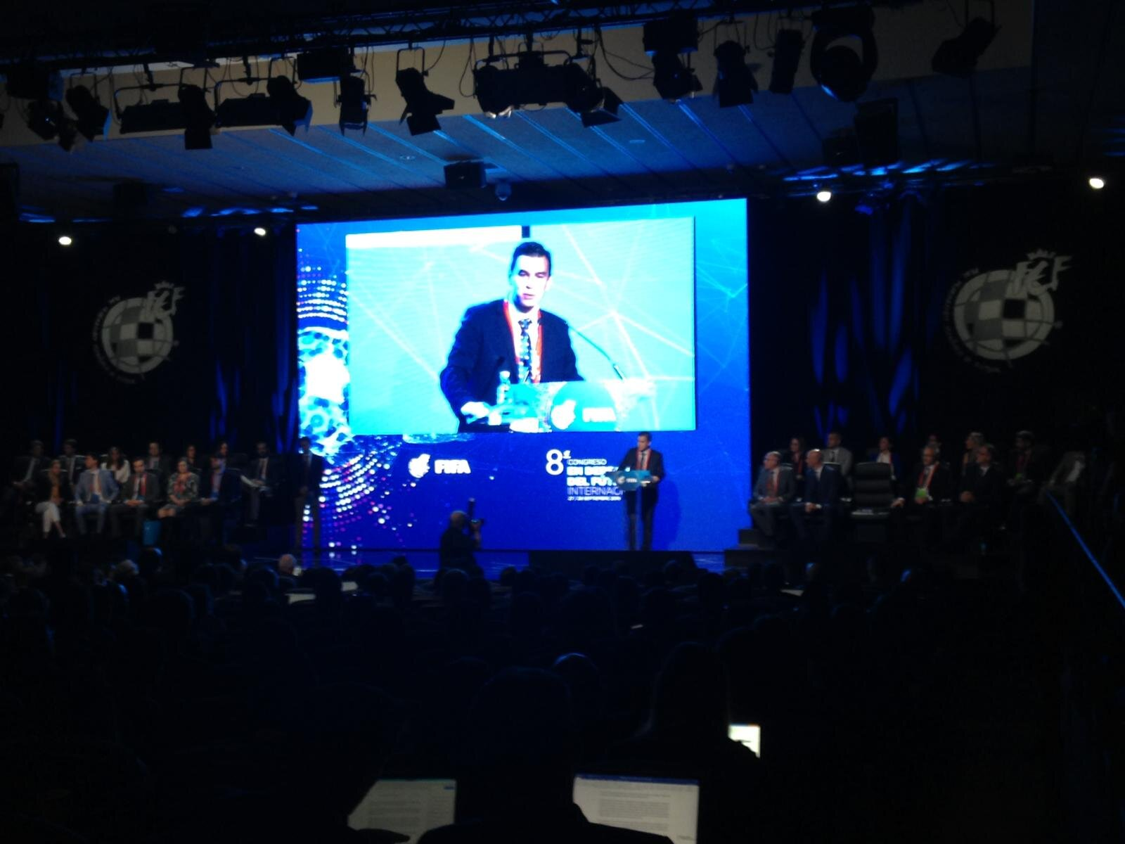 Emilio Garcia Silvero, FIFA's Chief Legal Officer