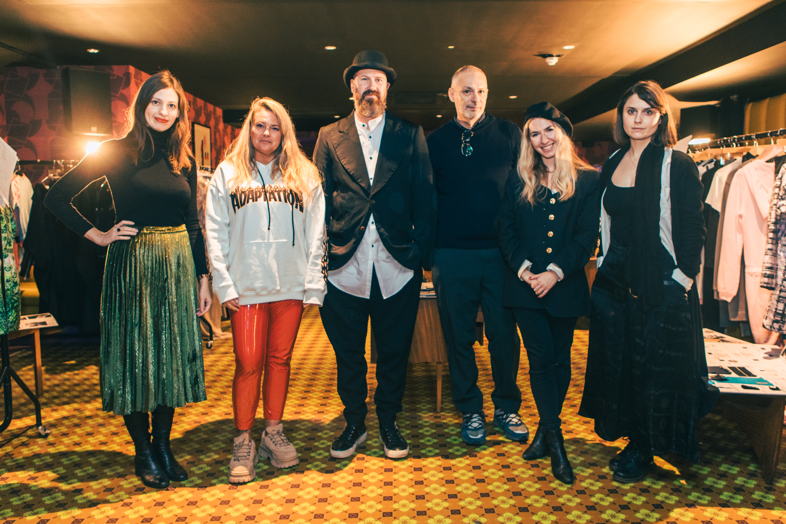 Industry experts from the judging selection panel in November 2017  Photography by Rory James