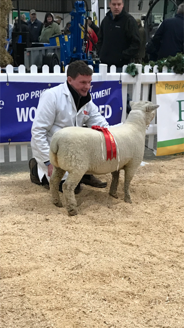 Nick Page with winning Goodwood lamb.png