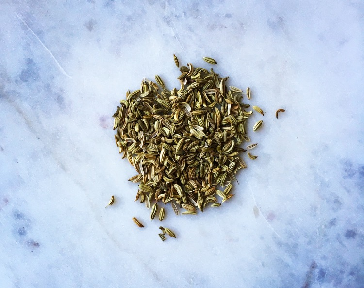 Fennel seed- one of many natural detoxifiers of the digestive system