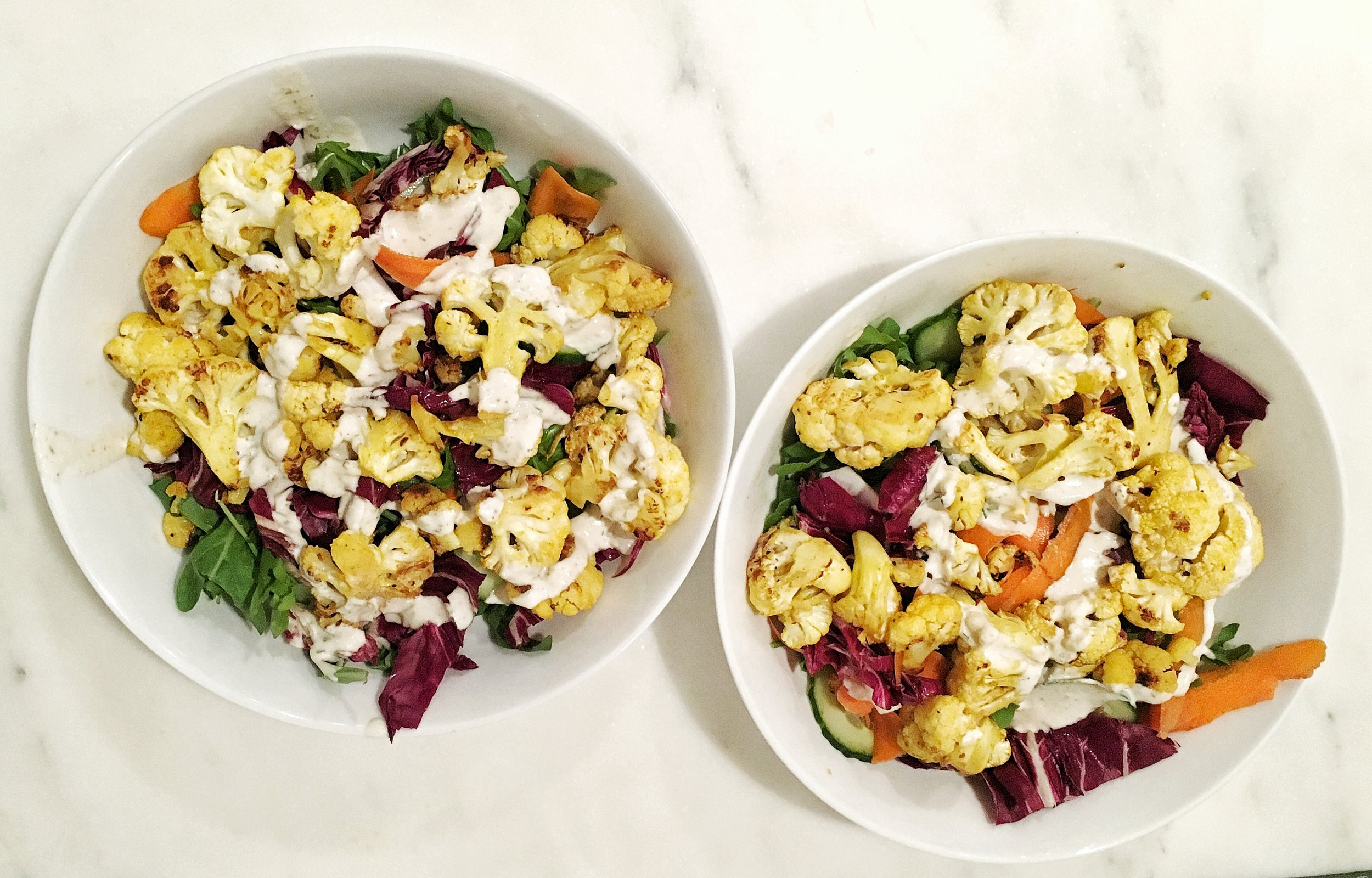 Prep the salad and dressing in advance for a quick and easy weeknight meal