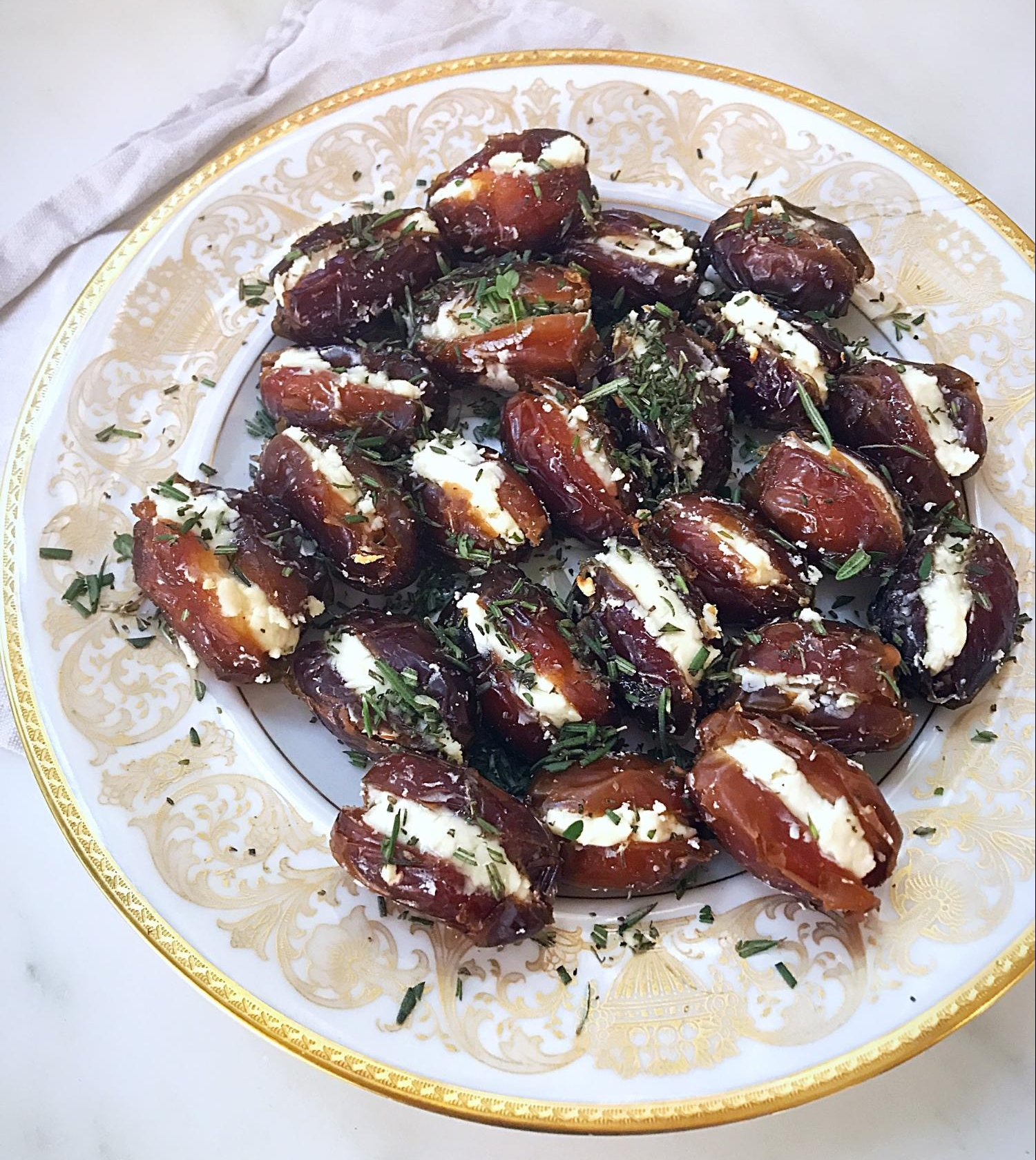 "Goat cheese, used in this dish from my Holiday Recipe Guide is considered a ""warming cheese"""