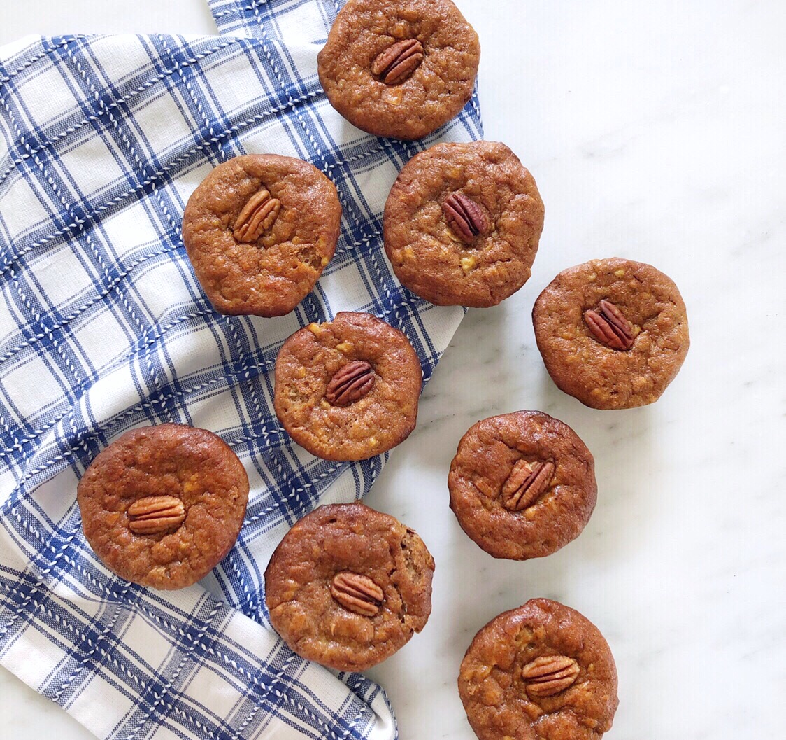 One serving of these muffins packs 17+ grams of protein!