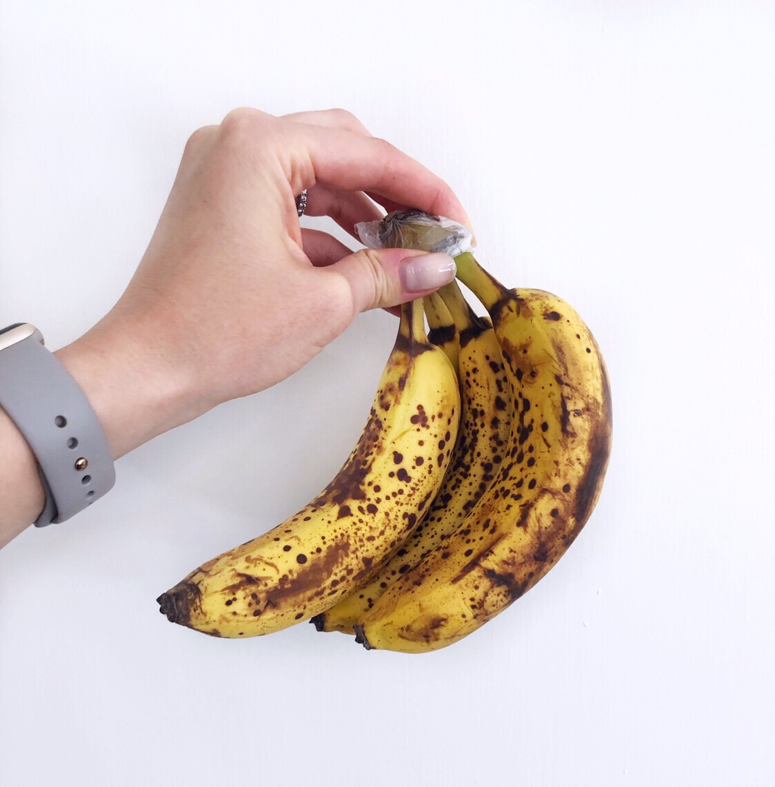 Spotty, browned bananas are a great alkalizing food that encourages good digestion!