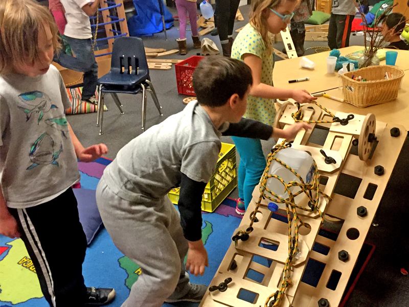 Students find creative solutions