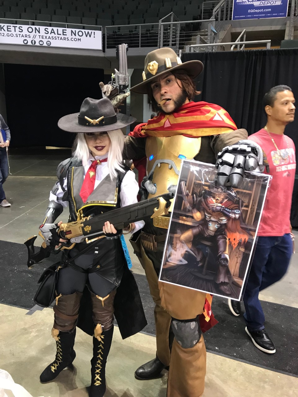Ashe and McCree!!
