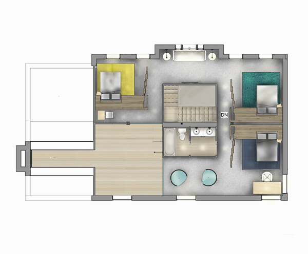FOUNDRYno201_Universal-Design_Rendered-Floor-Plan_Level-2