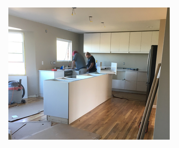 FOUNDRYno.201_Treeridge_Kitchen-Design_Main-Floor-Entertaining_Space-Planning_Construction-Progress_Countertop-Install