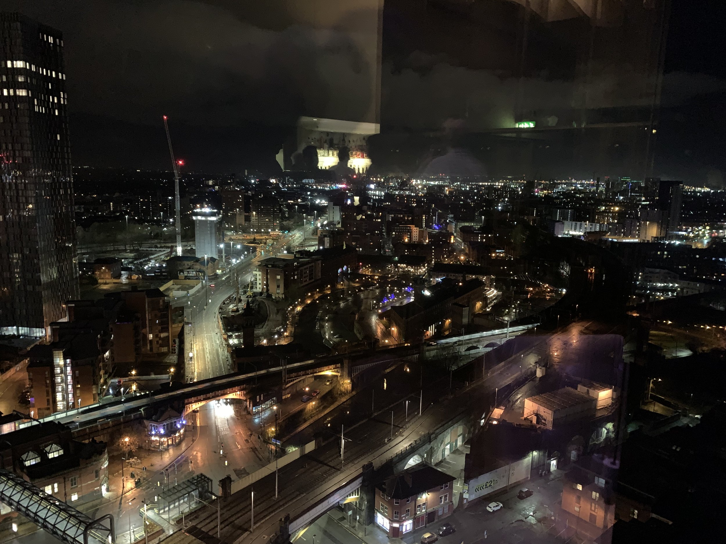 View from 23rd Floor!