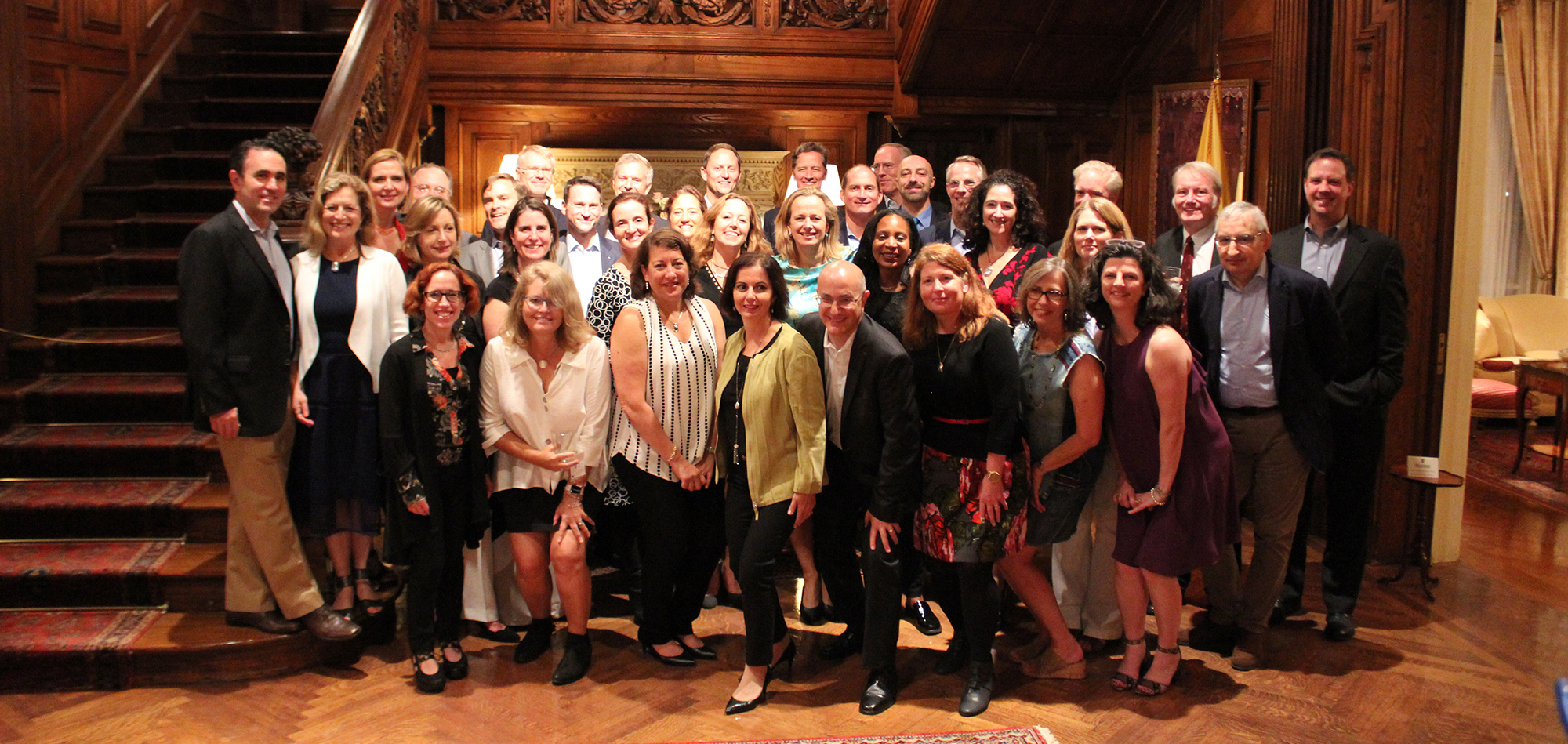 Members of the Class of 1992 celebrate their 25th reunion in Washington, DC.