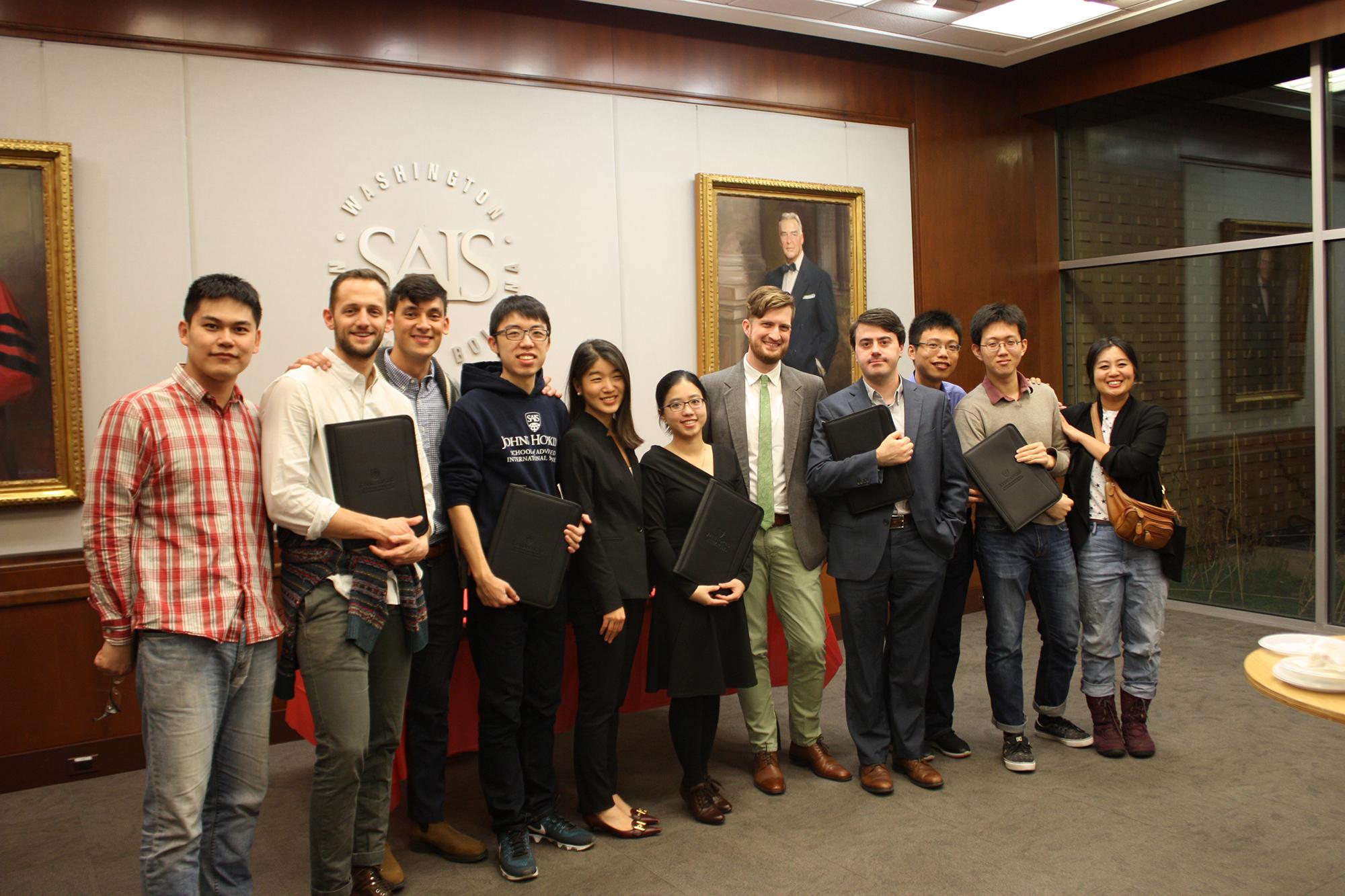 December 2017 graduates of the SAIS-Tsinghua Dual Degree Program in Global Politics and Economics