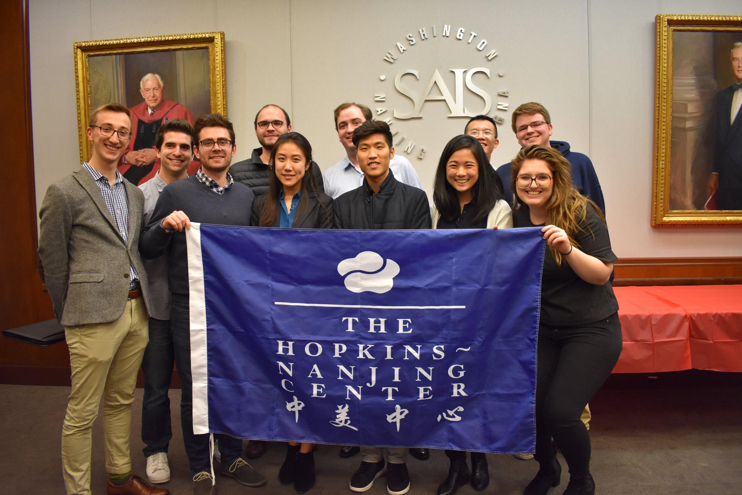 December 2018 graduates of the Hopkins-Nanjing Center Certificate/Johns Hopkins SAIS MA program