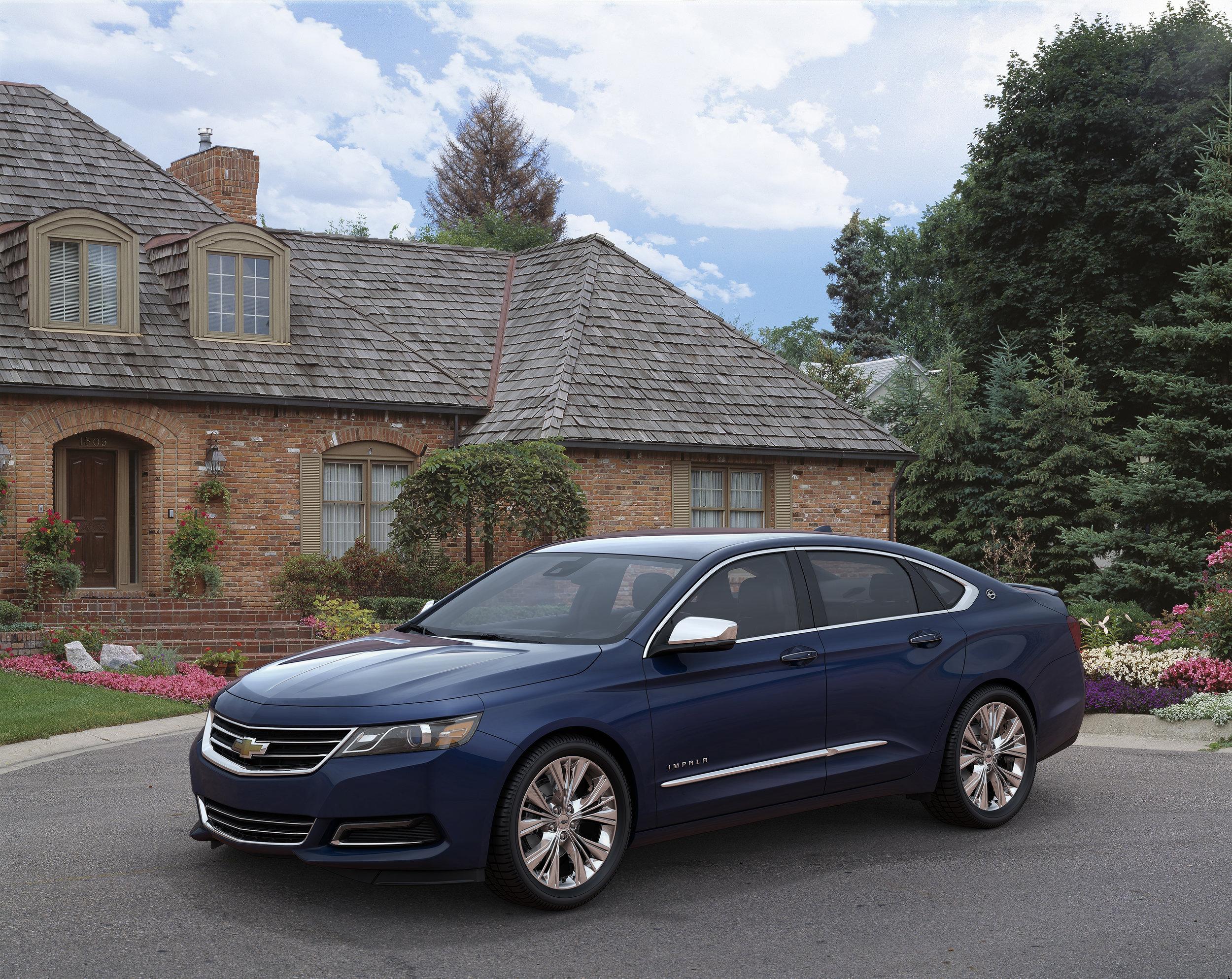 3D Impala Suburbia 3/4 Front