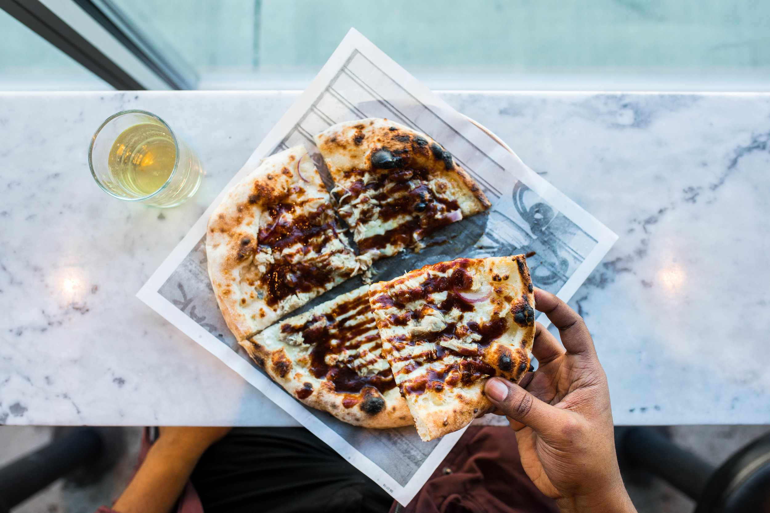 Pizzeria Locale and Rye BBQ Chicken Pizza