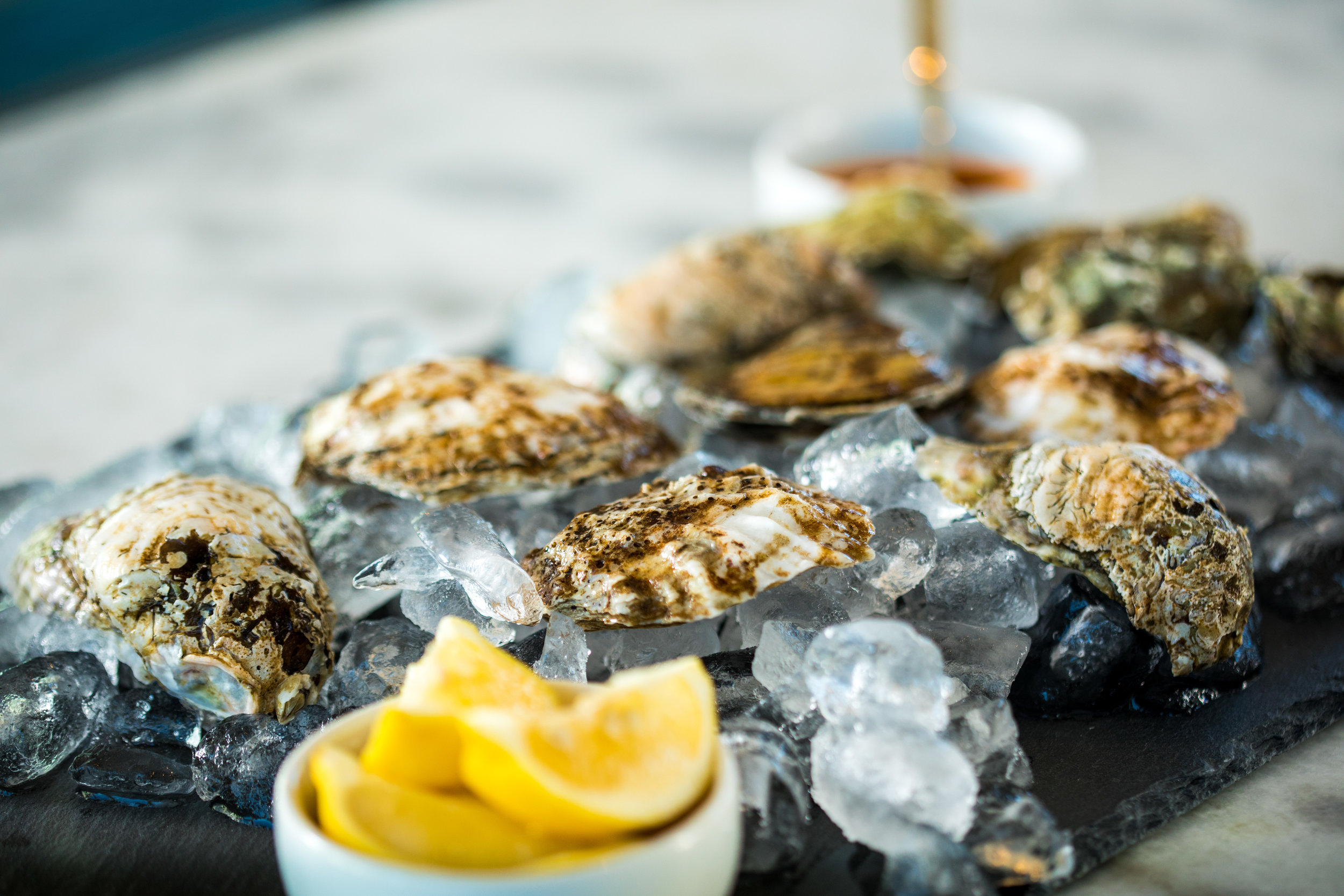 Sauce it up! - Serve a few tasty sauces along with oysters to elevate your raw bar.