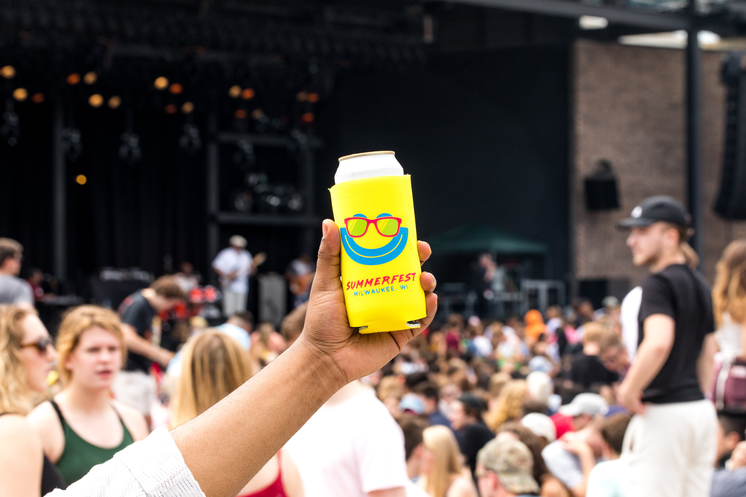Don't forget to snag a Summerfest koozie!