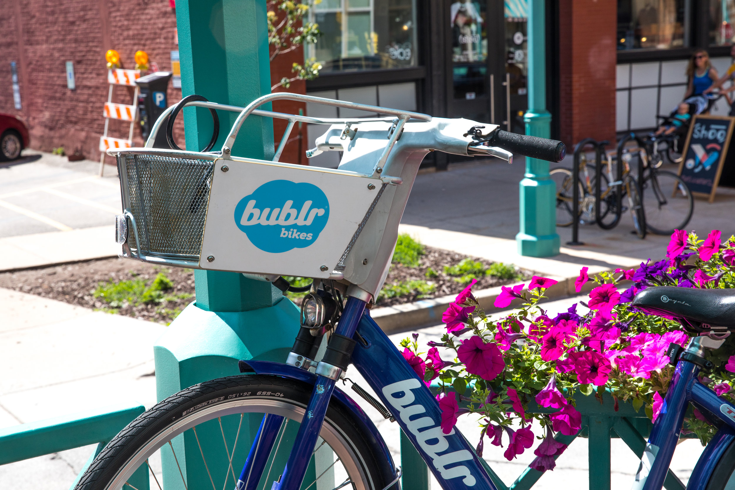 Saddle up! - Bublr your way around Milwaukee.