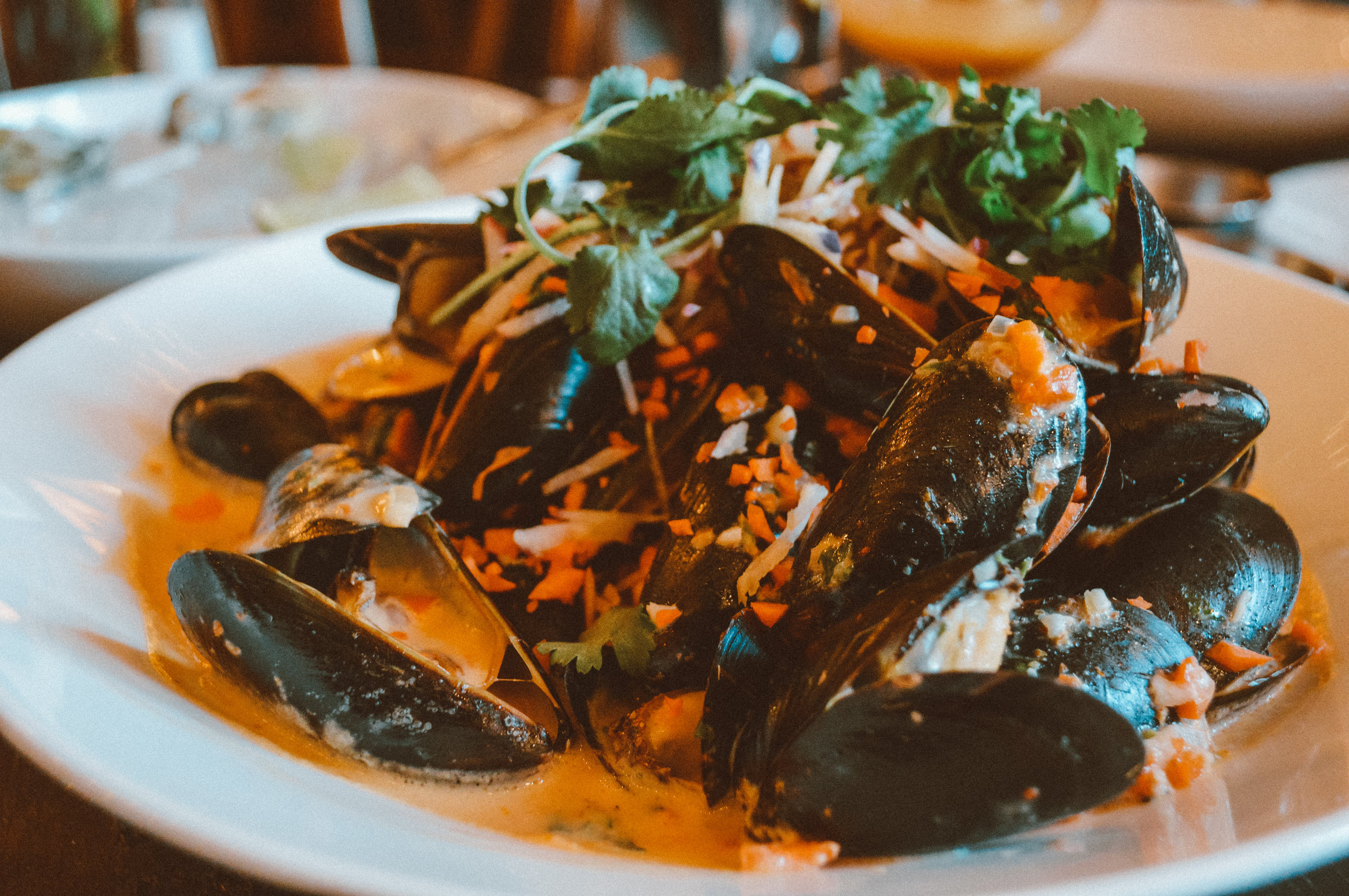 Westport Cafe and Bar - P.E.I Mussels