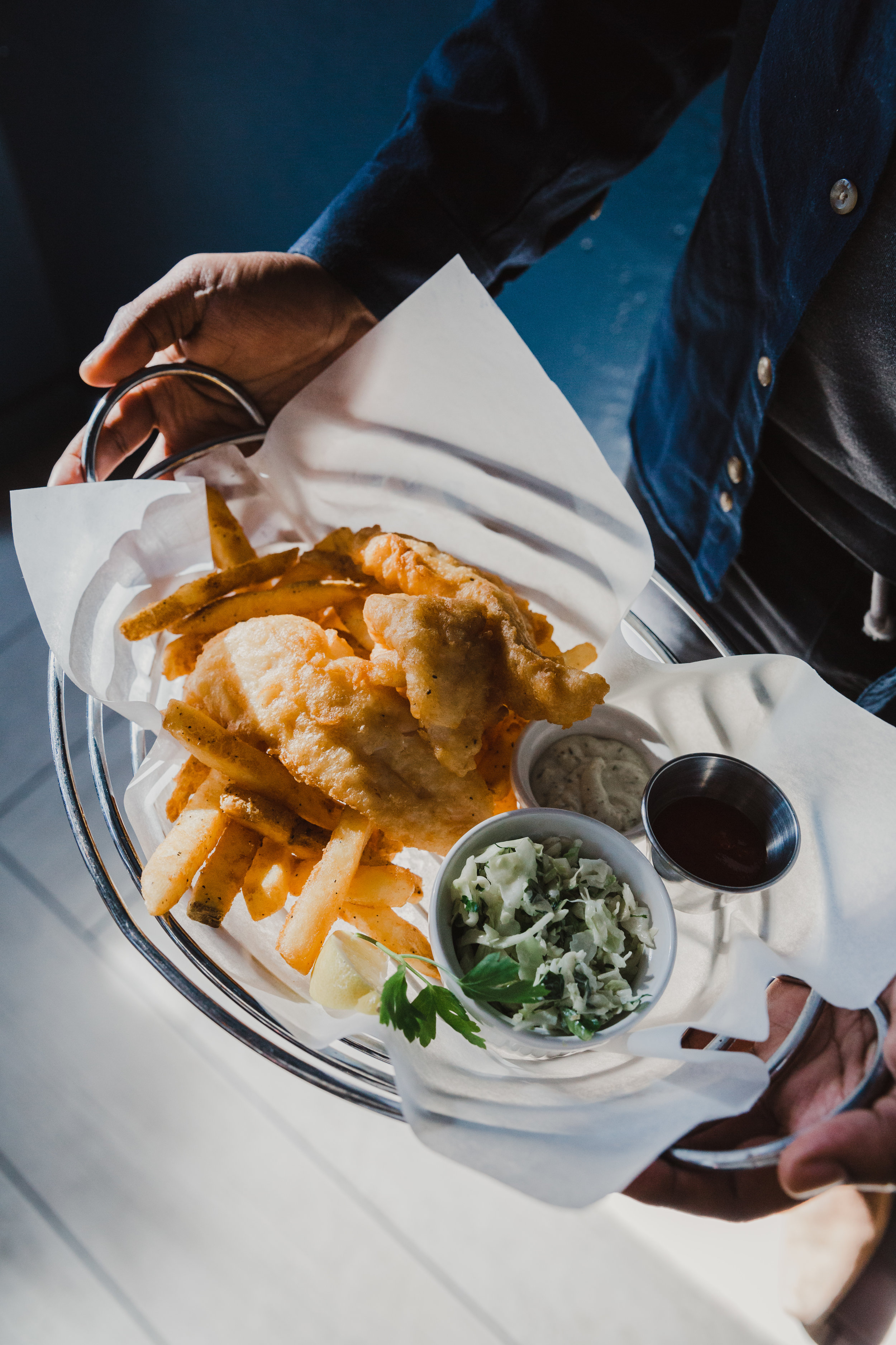 Summit Grill - Fish and Chips, Seattle Fish Company