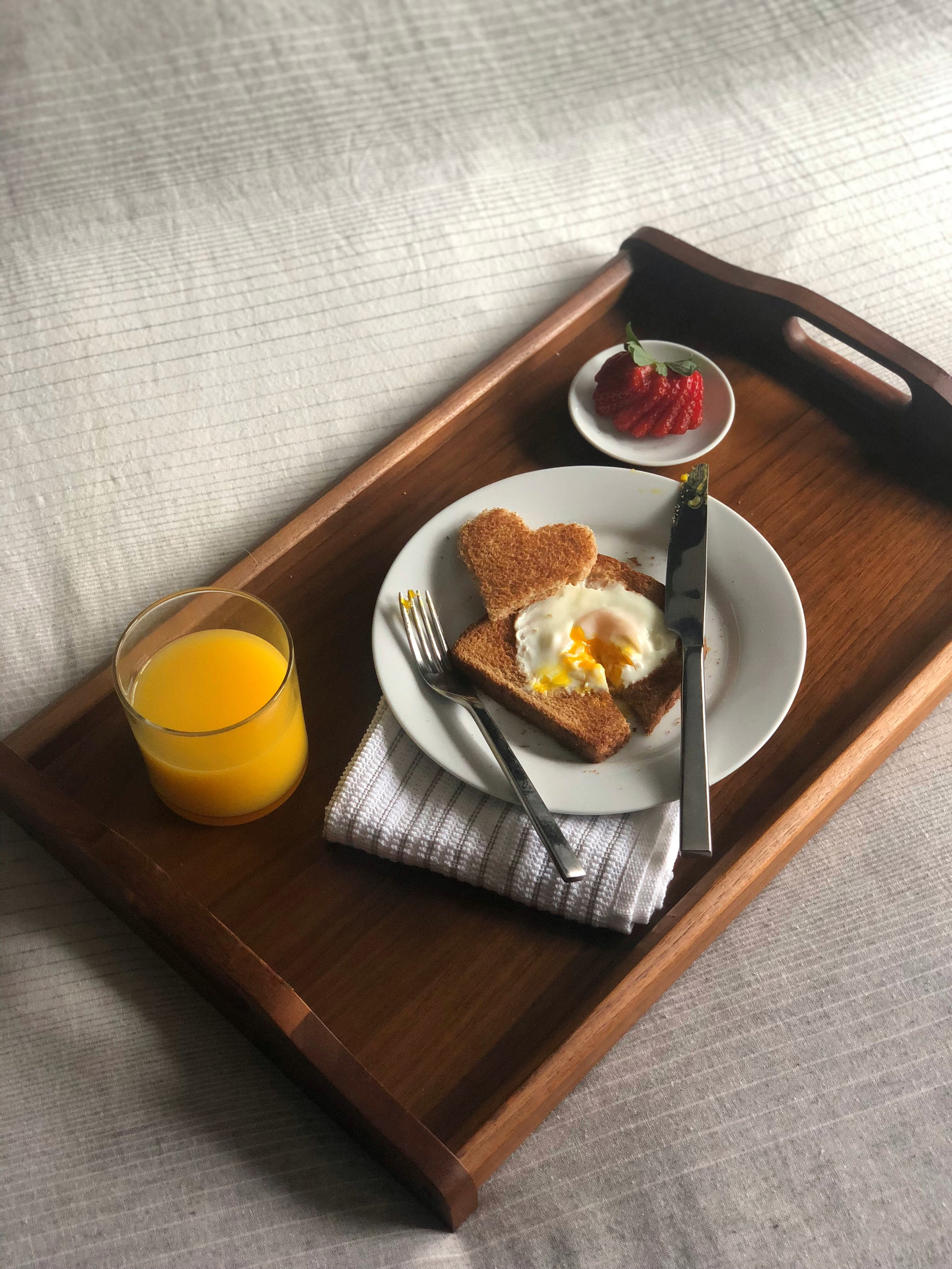 Who could say no to breakfast in bed?