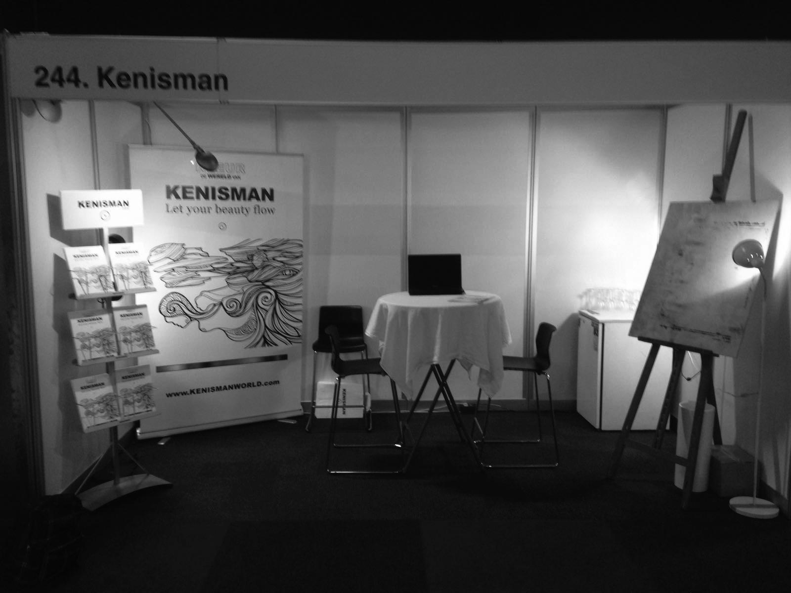 KENISMAN, Art & Paper Xperience Fair, Utrecht