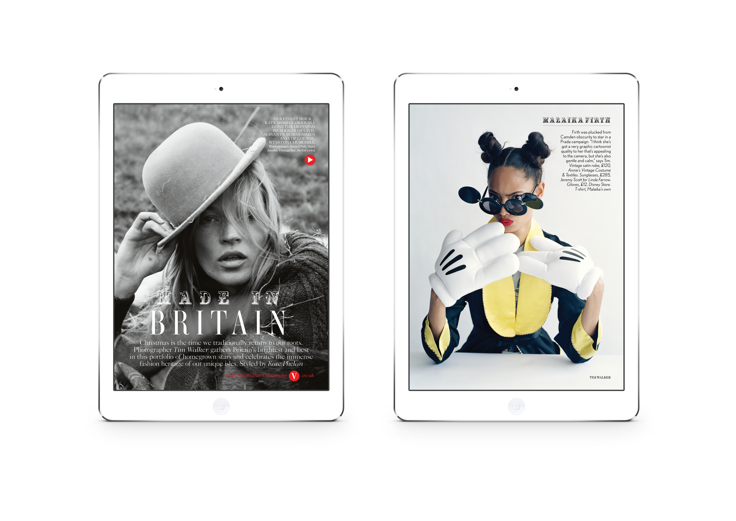 British Vogue App Edition