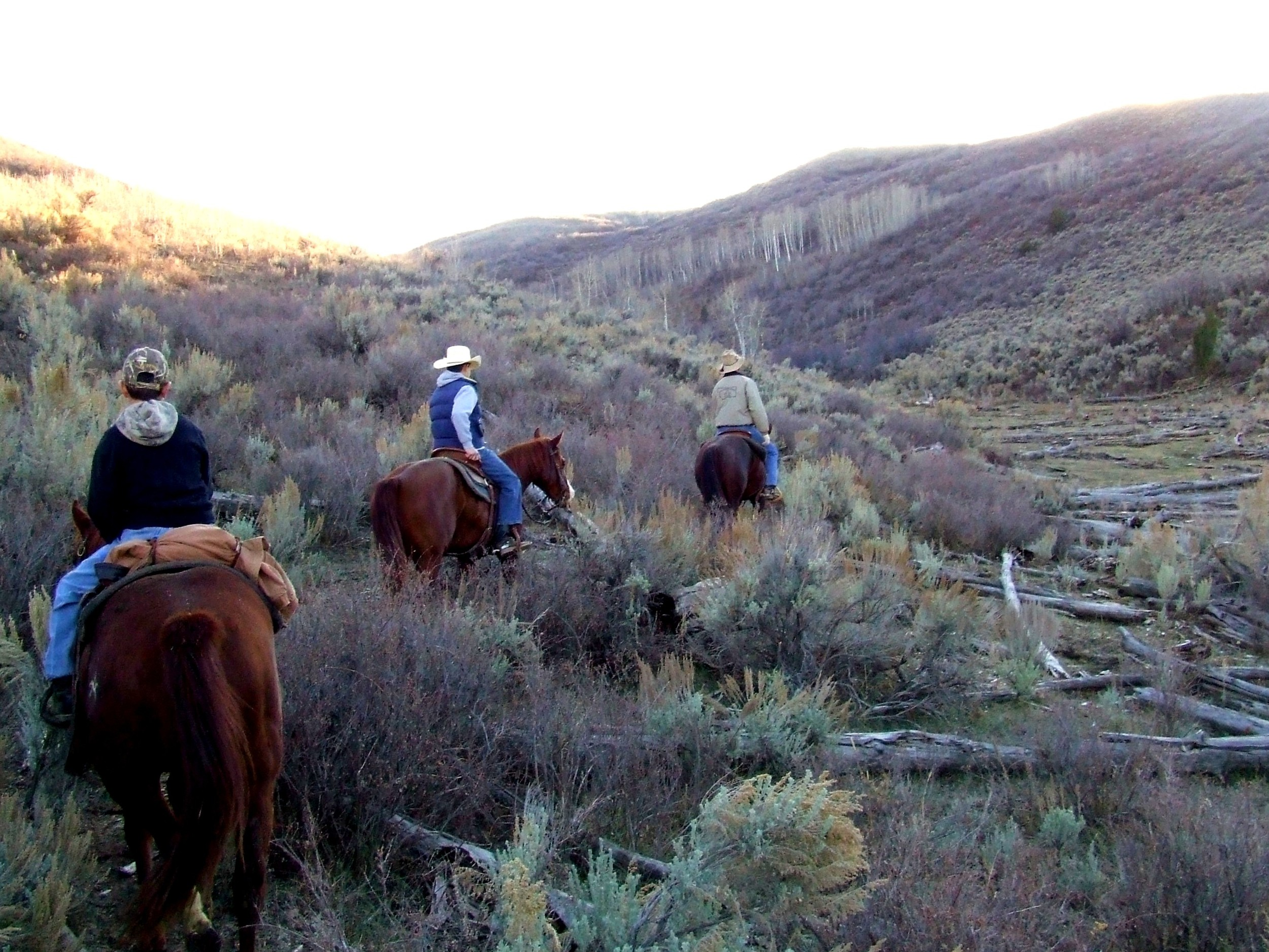 e and d and dad on trail ride.jpg