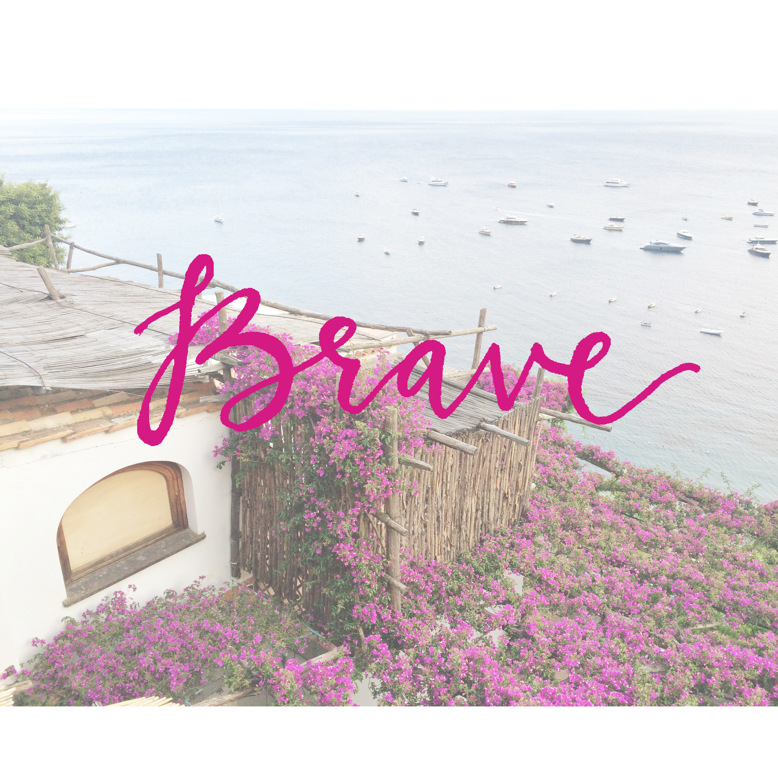 The  one word challenge encourages you to forget New Year's Resolutions and just choose one word. I've chosen Brave as my word for 2016!