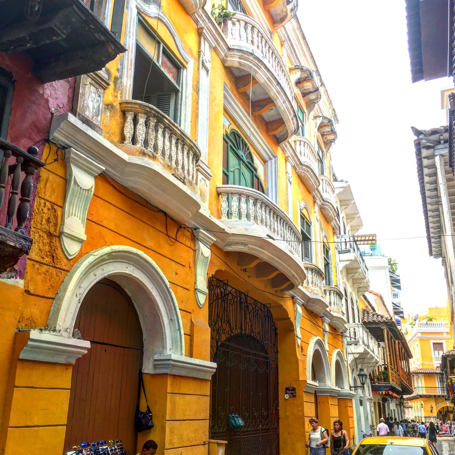 Streets of Cartagena