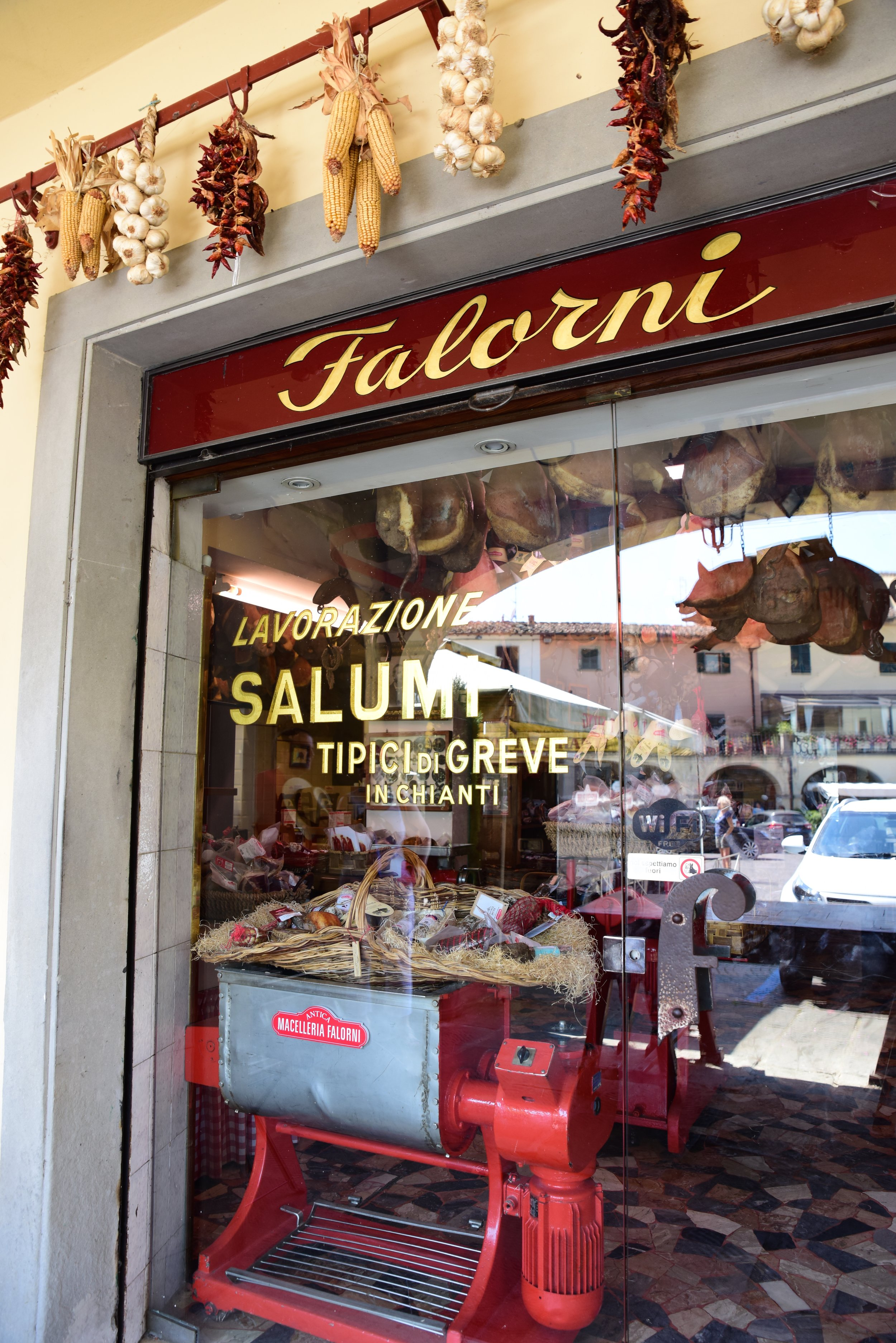 Historic butcher shop, Faloni in Greve