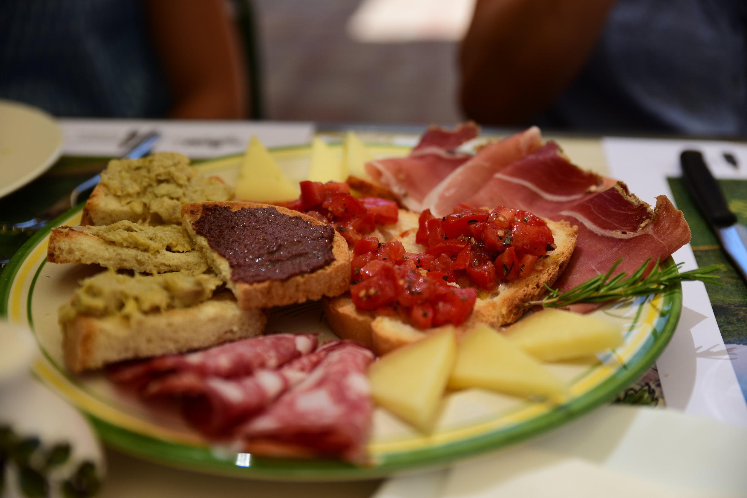 a bite from Falorni's
