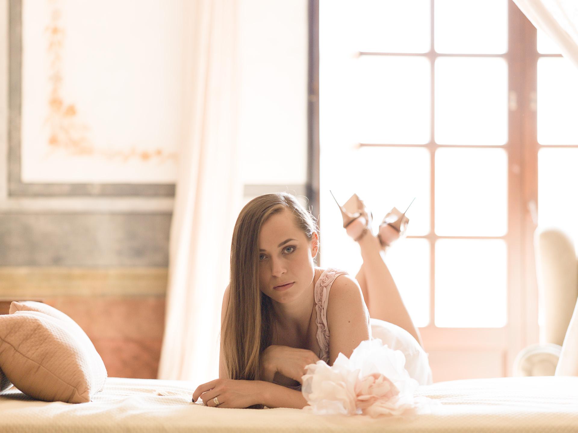 MONASTERIO de RUEDA. Model: Olga Grebenikova Bild Eric Berger