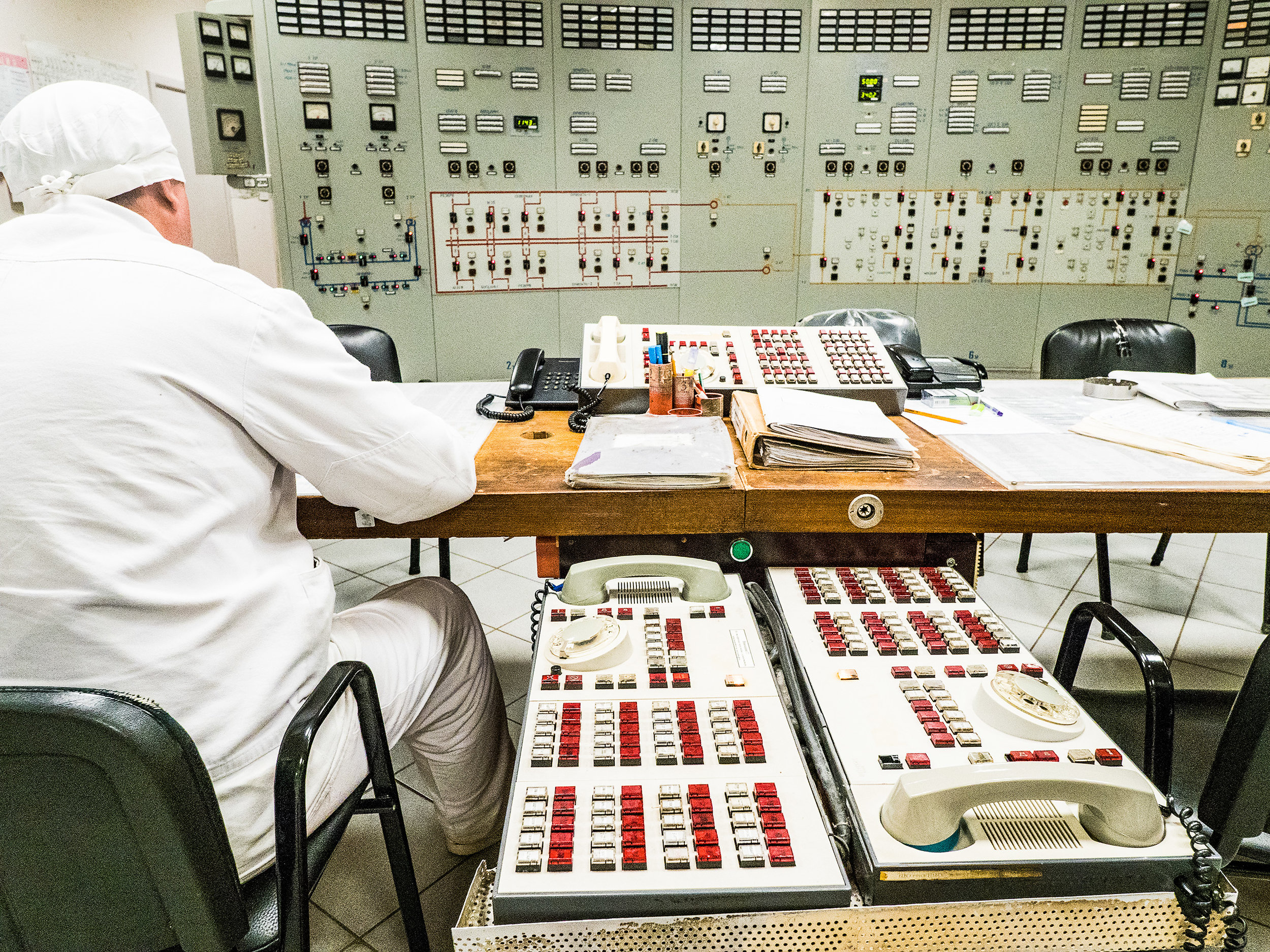 Eric Berger: Kernkraftwerk Tschernobyl