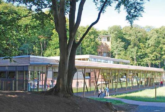 Rugen Natural Heritage Center - Architekt Stoger