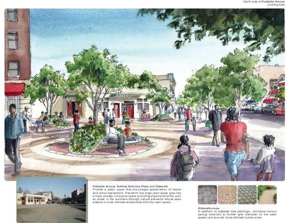 Revitalization of Parkside Avenue Q Station Plaza Competition Winner