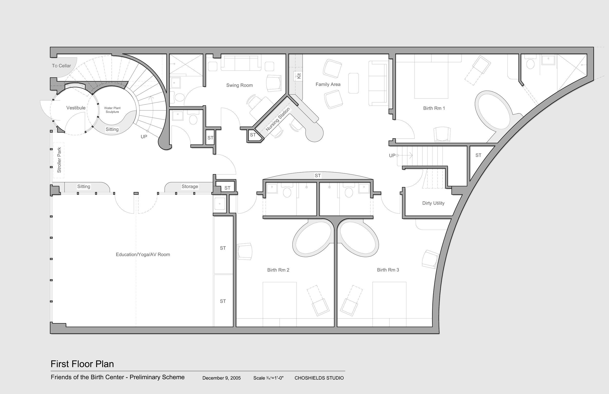 Birthing Center Choshields Studio