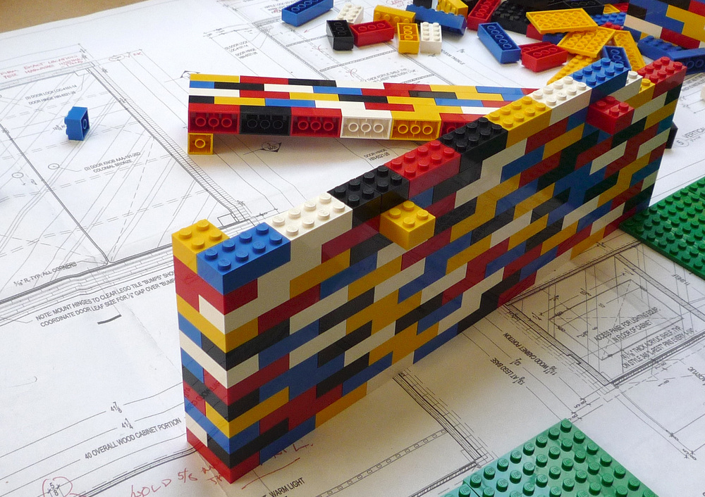 Lego Display Cabinet