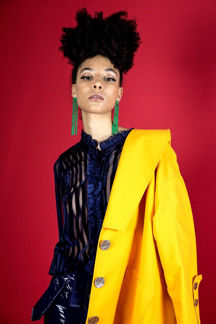 JUAN PALOMINO AW18  Photography: Daniel Cuadrado  Hair & Makeup Artist: Sarah Shaw