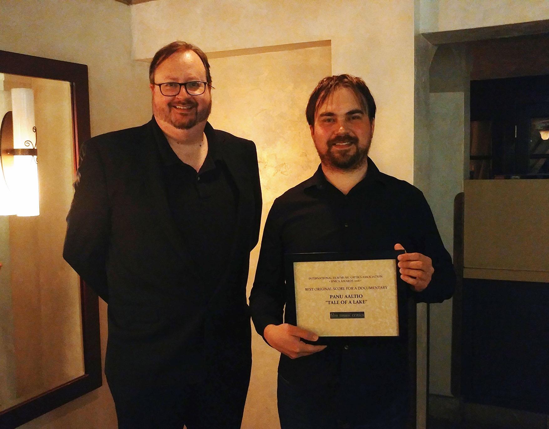 IFMCA Member  Jon Broxton  and  Panu Aaltio