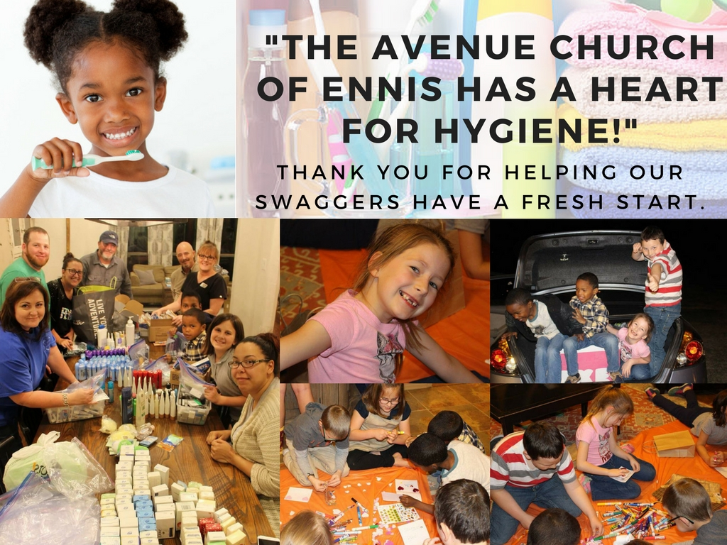 The Avenue Church of Ennis Hygiene Drive Thank You.jpg