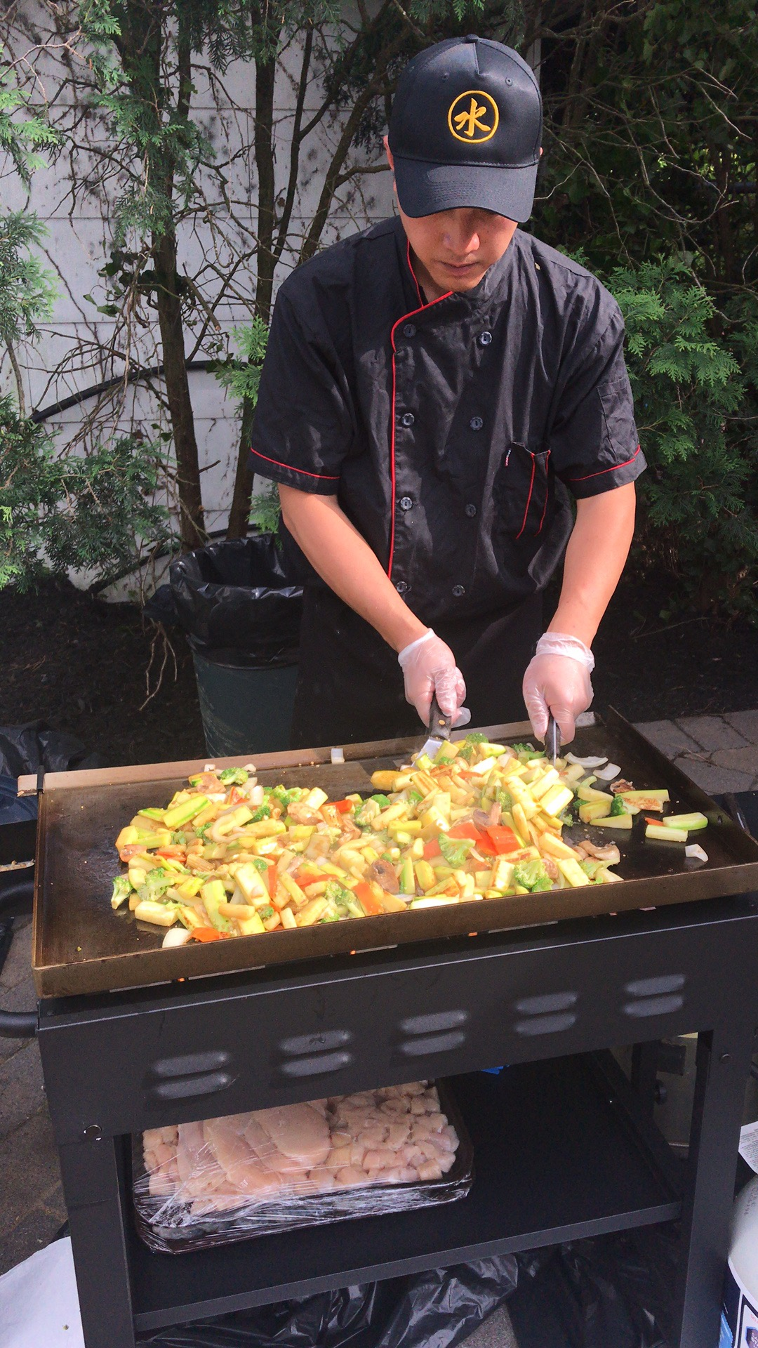 Mizu Hibachi Steakhouse now does backyard parties! - Call today to make your next backyard party an unforgettable one.(718) 608-8809